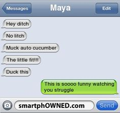Lol - - Autocorrect Fails and Funny Text Messages - SmartphOWNED