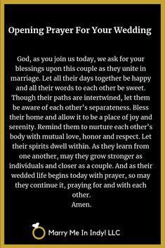 Wedding Ceremony Outline, Romantic Wedding Vows, Wedding Ceremony Readings, Wedding Prayer, Wedding Day Quotes, Wedding Blessing, Wedding Ideas, Wedding Themes, Wedding Cakes