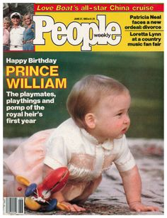 Prince William.  My goodness, look how far he has come.