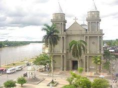 Colombia - Catedral de Quibdo en el Departamento de Choco