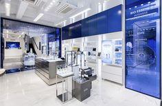 3 Glasses Shop, Electronic Shop, Retail Store Design, Exhibition Display, Tecno, Shiseido, Makeup Brands, Graphic Design Illustration, Visual Merchandising