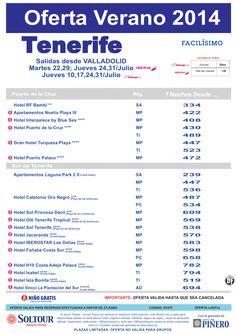 Oferta Hoteles en Tenerife, salidas desde Valladolid - Julio ultimo minuto - http://zocotours.com/oferta-hoteles-en-tenerife-salidas-desde-valladolid-julio-ultimo-minuto/