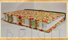 Handmade book / bookbinding - (Floral Book) - Handbound book - Handbound Journal
