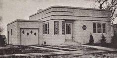 Art Deco and Art Moderne Homes, G.L. Horner, Architect | Art Deco Resource