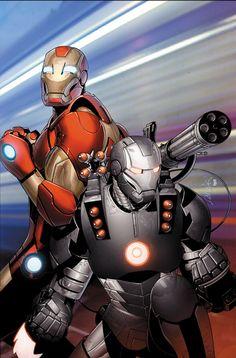 Invincibile Iron Man #27 by Salvador Larocca