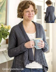 Cardigan knitting pattern free