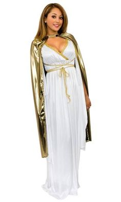 Gold Lame Cape