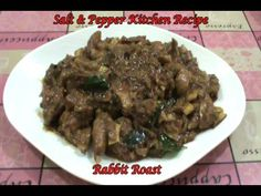 Rabbit Roast  (Muyal earchi Ularthiyathu).