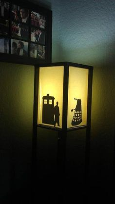 Doctor Who lamps!