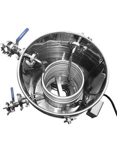 Stainless Steel Hot Liquor Tank (with HERMS coil)