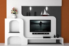 "Outstanding ""tv wall mount decor"" info is readily available on our website. Lcd Unit Design, Modern Tv Unit Designs, Lcd Panel Design, Modern Tv Wall Units, Mounted Tv Decor, Wall Mounted Tv, Tv Cabinet Design, Tv Wall Design, Ceiling Design"