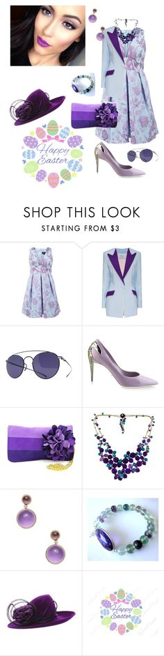 """He has Risen"" by scope-stilettos ❤ liked on Polyvore featuring Notte by Marchesa, Hebe Studio, Maison Margiela, Baldinini, Shiraleah, Cartier, Goshwara, Philip Treacy and Cricut"