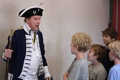Not Just Stars and Stripes! Sons of the American Revolution describe flags and muskets of the Revolutionary War.