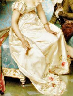 Sadness and classic art, La Proposition, Detail. byFrédéric Soulacroix