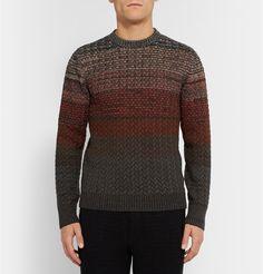 Missoni - Zig-Zag Patterned Wool-Blend Sweater