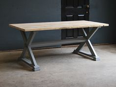 X-Frame Table | The Vintage Furniture Company