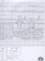 Gallery.ru / Фото #1 - На набережной - Mila65 Cross Stitch, Math, Transportation, Fabrics, Dots, Needlepoint, Picture Wall, Punto De Cruz, Seed Stitch