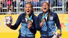 El beach voley femenino consiguió un nuevo Oro para la Argentina | Juegos Panamericanos de Toronto 2015 - Infobae