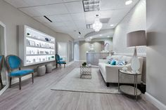 #SkinRaleigh is Raleigh's newest and most cutting edge medical spa. #medspa #design