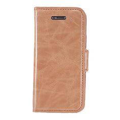 Glat PU læder Full Body Case med Stand og kortplads til iPhone 5C (assorterede farver) – DKK kr. 94