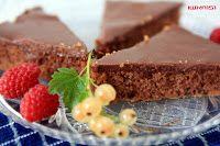 šantenie v kuchyni :): Grankový koláč s úžasnou polevou