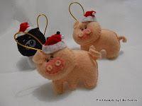Turma de animais para alegrar o Natal  by Litta Santos