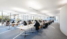 School lighting: light for education and knowledge - Zumtobel Learning Centers, Fun Learning, Education, Lighting, School, Rolex, Lausanne, Switzerland, Centre