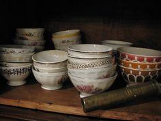 Collection of Cafe au Lait Bowls