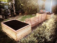 ModBOX Dicembre 600mm high with capping and wicking system. The area is infested by rabbits and these raised garden beds will keep the homegrown food out of reach from the hungry critters... #modbox #rabbitproofgarden #australia #melbourne #gardening #raisedgardenbed