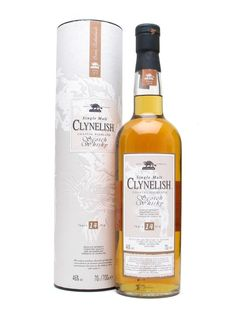 CLYNELISH 14 YEAR OLD.  Clynelish is the successor to the now-silent Brora, built opposite the original distillery and producing a top-quality rich, smoky dram.