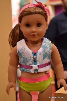 Pictures From Lea Clark's Debut. #HappyHouseofAG. Lea's Mix and Match Bathing Suit.