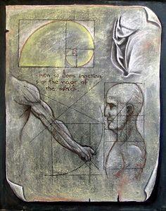 The Waldorf Way: divine proportion - 7th grade, da Vinci, algebra, geometry, and business math.