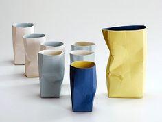 Brick, 2001, Porcelaine colorée, coulée