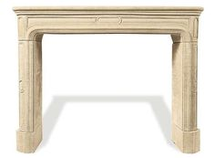 FIREPLACES: 18th century reproduction French mantle