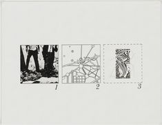 Bernard Tschumi. The Manhattan Transcripts Project, New York, New York , Episode 1: The Park. 1976-77