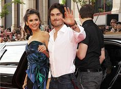Nina Dobrev finally Opens up about The 10 years age difference between her and Boyfriend' Ian Somerhalder!