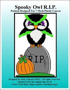 Spooky Owl RIP Pg 1/2