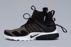 great fit 9f541 4a428 A More Intricate Look at the ACRONYM x NikeLab Air Presto Mid Collection