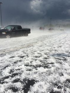 Golf ball-sized hail came down heavily in and around Berks County on Thursday afternoon and caused damage.