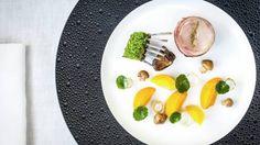 petrus ballantine of rabbit foie gras carrot charred onion