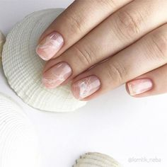 Nude Nails, Nail Manicure, Nail Polish, Mens Nails, Romantic Nails, Nails Now, Natural Nail Designs, Minimalist Nails, Cute Acrylic Nails