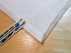 How to Sew a Corner (aka Mitered) Hem