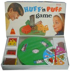 Love board games. Huff'n Puff looks like fun.