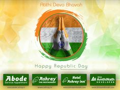 Happy Republic day from Shree AmthiNath Developer On Republic Day, our country follows the tradition of Atithi Devo Bhava by inviting a chief guest, like Prime Minister or President from another country who takes the position of the Commander in Chief of Indian Army. Our country has always welcomed guests and tourists from round the globe and Ashray Hospitality also believes in this notion from the core! #ResidencialApartments  #SkydeckSelect  #BestBuilderinAhmedabad  #BuilderinAhmedabad