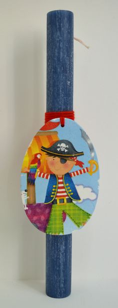 Jack Sparrow as a kid! Greek Easter, Jack Sparrow, Holiday Time, Scrap, Xmas, Candles, Holidays, Decor, Yule