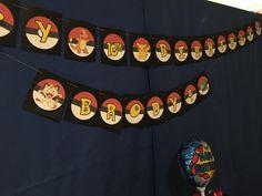 Pokemon party banner