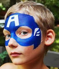 תוצאת תמונה עבור avengers face paint