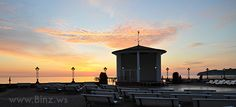 sunrise at the baltic seaside resort Binz on the island Insel Rügen Strand Resort, Hotels, Seaside Resort, Sunrise, Island, Spaces, Light House, Tourism, Baltic Sea