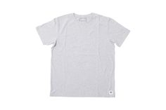 #WOOD #WOOD - #MENS BASIC #T-SHIRT - GREY MELANGE