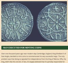 A preview of our blog on the story behind a Anglo-Saxon coin discovered in England.